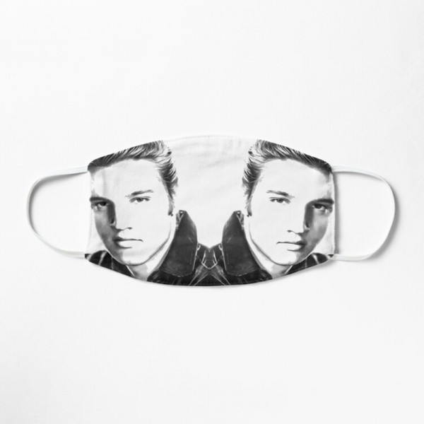 Masque Tissu Lavable Respirant Tendance Fashion Elvis Prestley Portrait