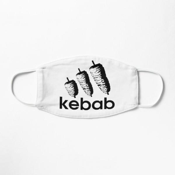 Masque Tissu Lavable Respirant Tendance Fashion Kebab Doner