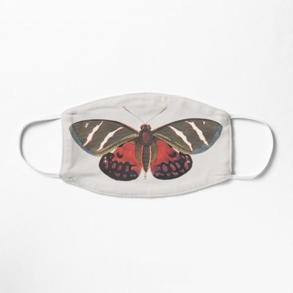 Masque Tissu Lavable Respirant Tendance Fashion Papillon Moth Butterfly