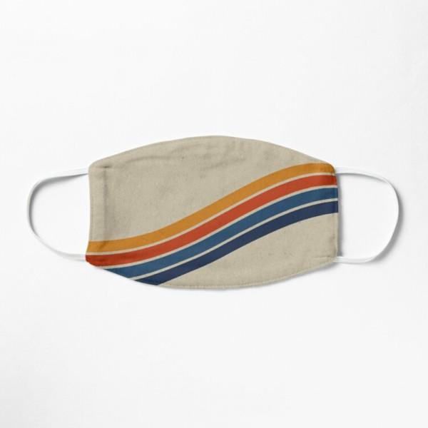 Masque Tissu Lavable Respirant Tendance Fashion Retro 70s