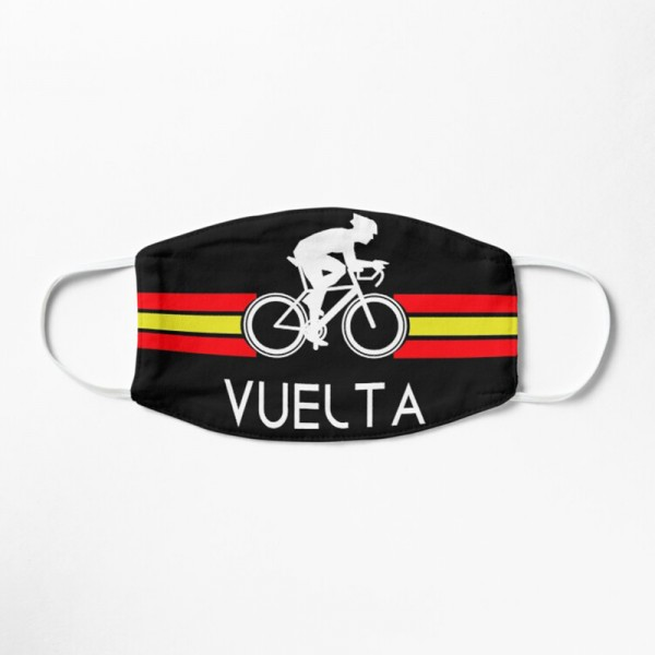 Masque Tissu Lavable Respirant Tendance Fashion Vuelta Espagne Vélo Route