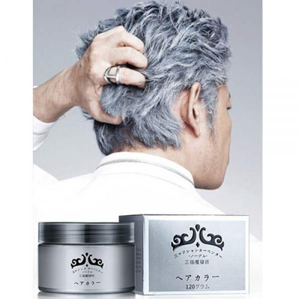 Cire Wax Argent Homme Fashion Hairstyle