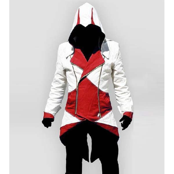 a2930a1977 Costume assassins creed homme blanc rouge