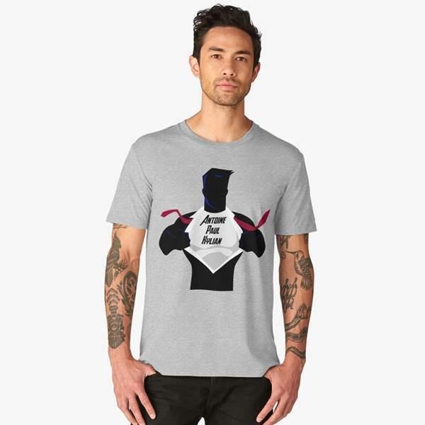 T-shirt Imprimé | Super Héros | Équipe de France 2018