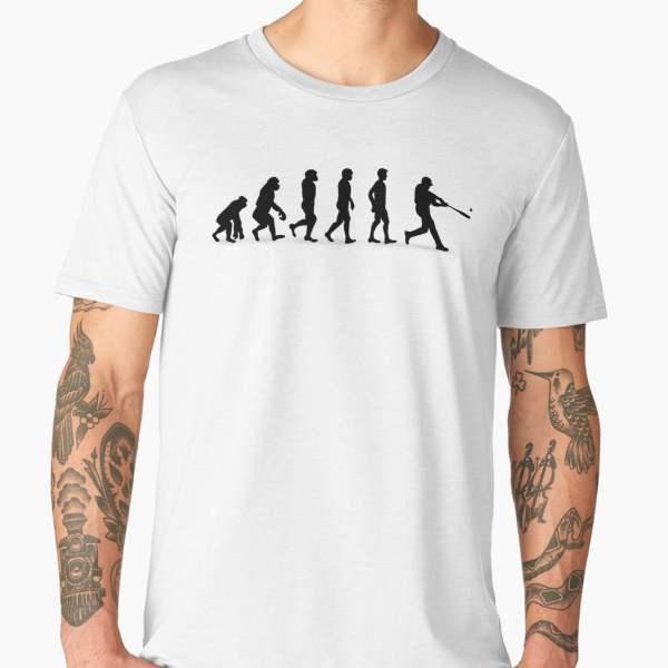 T-shirt Évolution | Imprimé Baseball