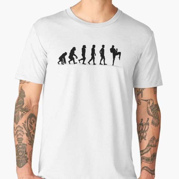 T-shirt Évolution | Imprimé Muay Thai