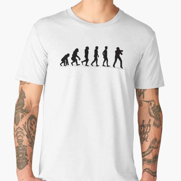Shirt Photographe T T Shirt ÉvolutionImprimé BWdrCexo