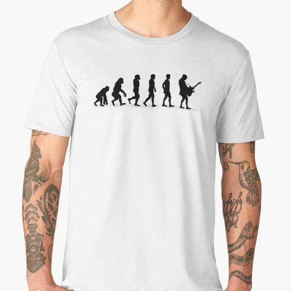 T-shirt Évolution | Imprimé Rock
