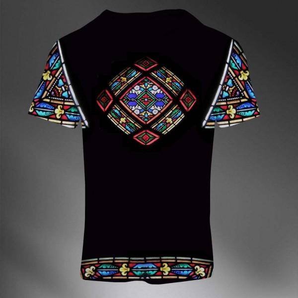 t shirt homme fashion imprime all over print exclusif. Black Bedroom Furniture Sets. Home Design Ideas