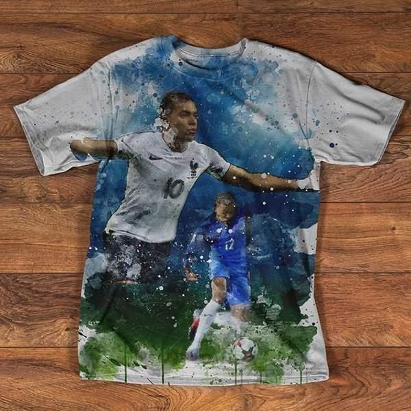 T-shirt Imprimé | Kylian Mbappé | Série Limitée