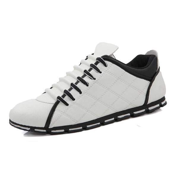 baskets homme sport design fashion luxe men sneakers respirables blanc