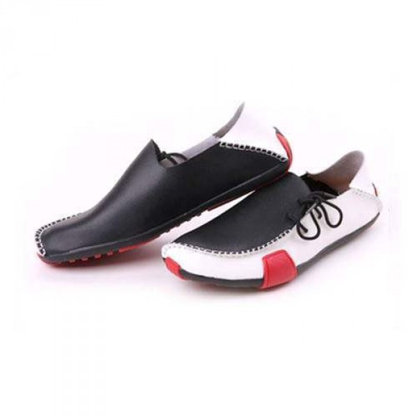 Mocassin elegance Luxe Sport cuir Chaussures bateau Homme 0p4Hp