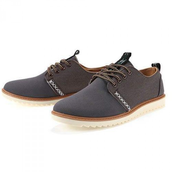 chaussures homme casual suede large confortable style fashion grises marron. Black Bedroom Furniture Sets. Home Design Ideas
