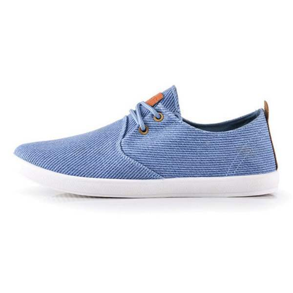 Baskets Bateau Homme Sneakers Casual Striees Summer Fashion Men Bleu