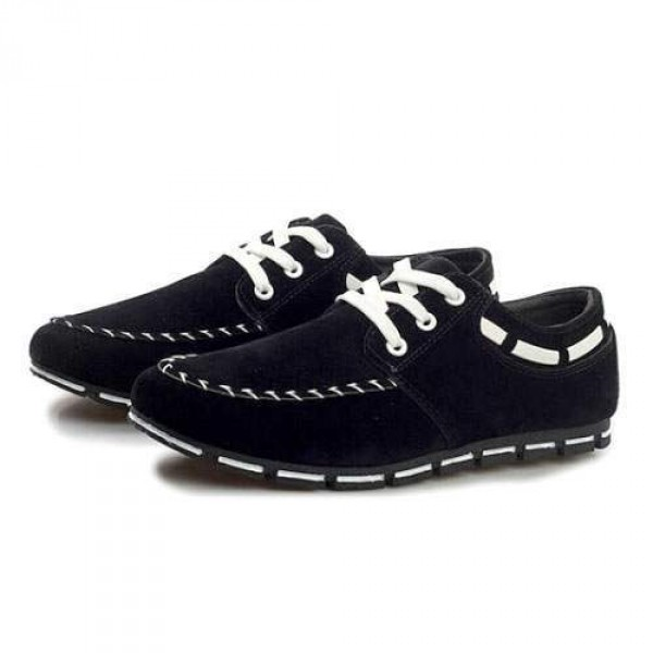 Chaussures Homme Casual Sport Flat confort Elegant Style Noir