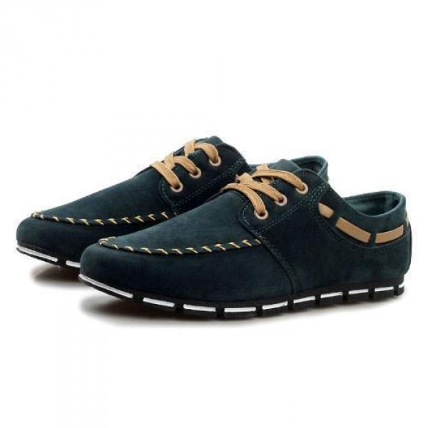 Chaussures Homme Casual Sport Flat confort Elegant Style Vert