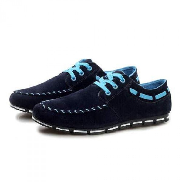 Chaussures Homme Casual Sport Flat confort Elegant Style Bleu