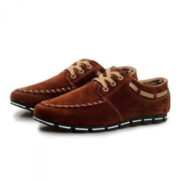 Chaussures Homme Casual Sport Flat confort Elegant Style Marron