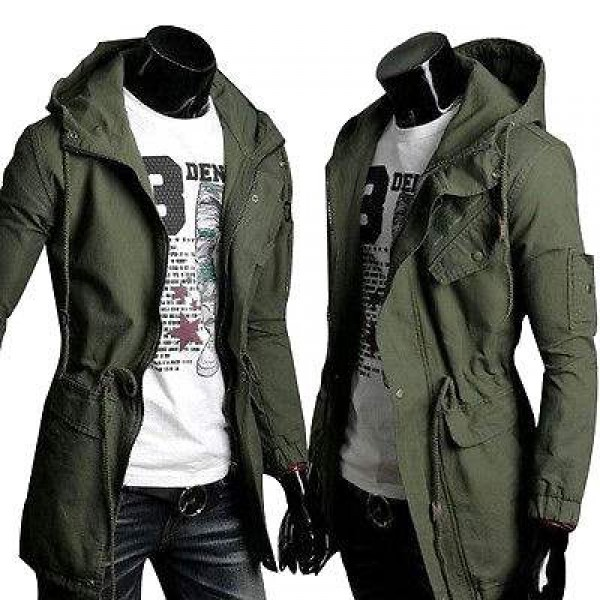 Blouson Veste Sweater Homme Fashion Militaire Spirit Outwear Design Men Khaki