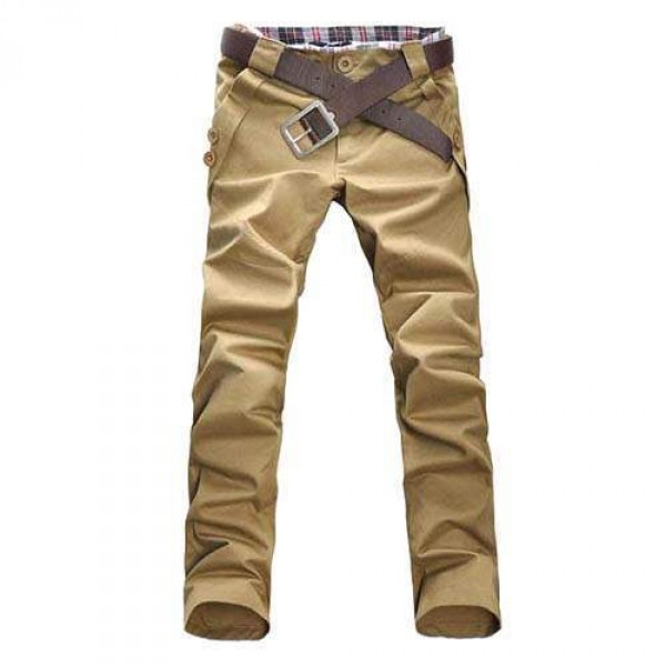 Pantalon Homme Classique Batik Fashion Slim Fit Sport Casual
