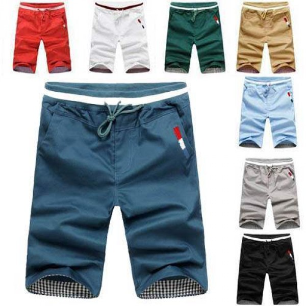 Short Bermuda Homme Beach Nautique Fashion Sport Colors Men