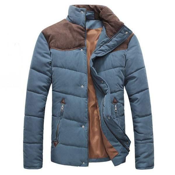 blouson homme fashion parka outdoor veste bleu clair. Black Bedroom Furniture Sets. Home Design Ideas