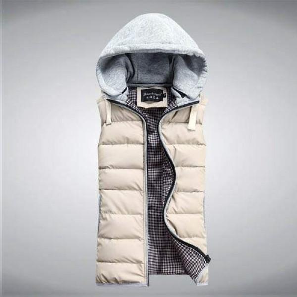 Veste coton sans manche