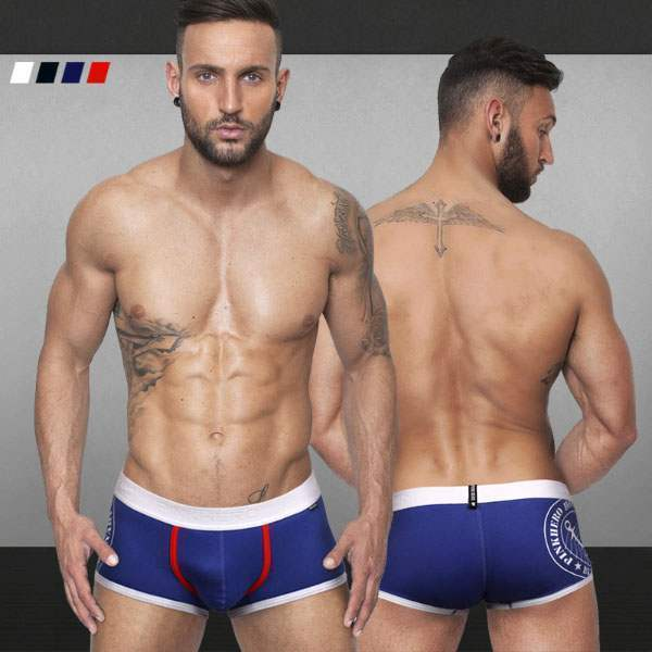Boxer Homme Court Fashion Coton Confort Underwear Sport