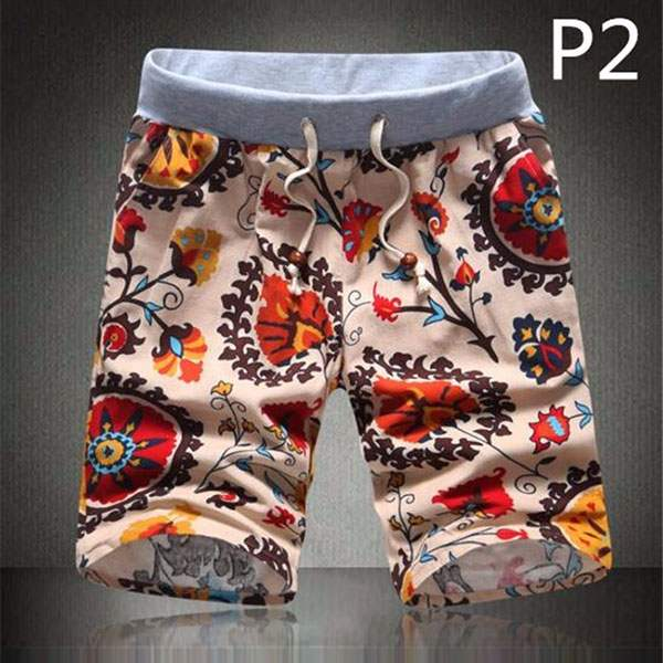 Short Bermuda Homme Cool Patchwork Hipster Paisley fashion P2