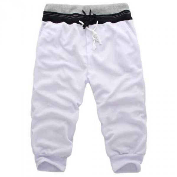 Short Homme pantacourt Sport Fashion Blanc
