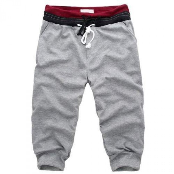 Short Homme pantacourt Sport Fashion Gris