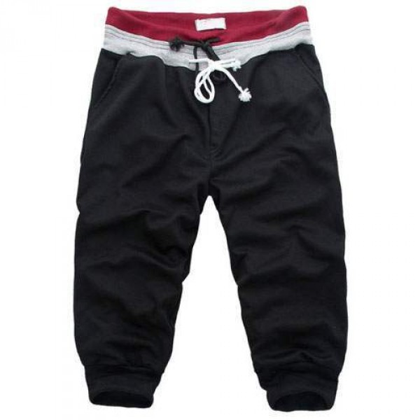 Short Homme pantacourt Sport Fashion Noir