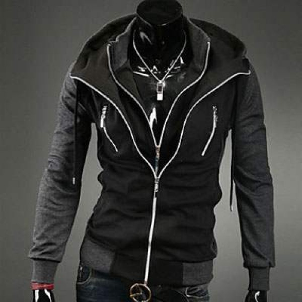 sweat a capuche hoodie homme fashion sport double. Black Bedroom Furniture Sets. Home Design Ideas