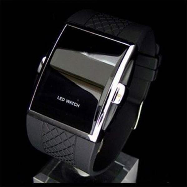 Montre homme Fashion Men watch digital luxury Led Sport Class Noire