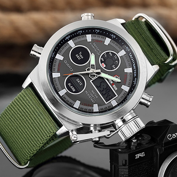 Montre Homme Sport Military Design