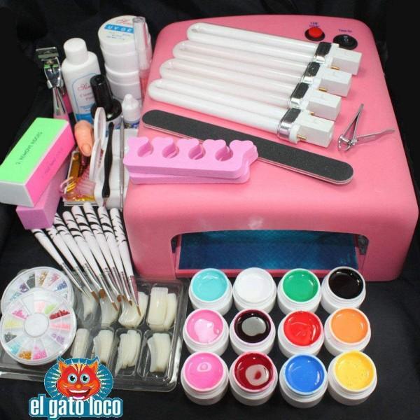 Nail Art Simple Sans Materiel: Kit Professionnel Lampe UV Manucure Ongles Nail Art 12