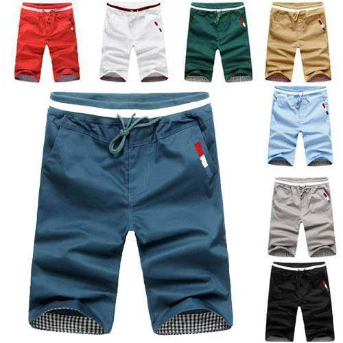 Short bermuda homme beach nautique fashion sport colors men for Short a carreaux homme