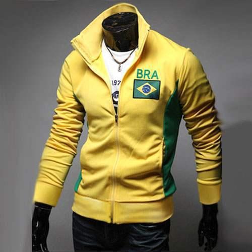 veste jogging homme fashion casual coupe du monde jacket. Black Bedroom Furniture Sets. Home Design Ideas