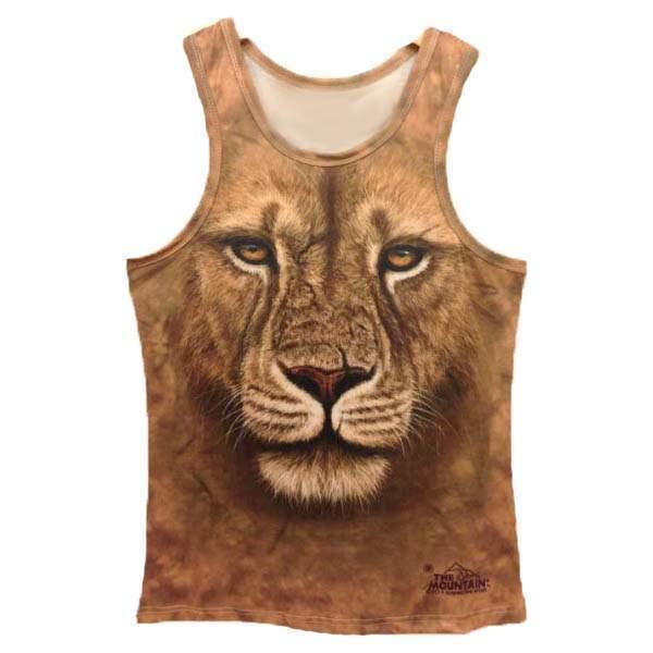 t shirt debardeur effet 3d lion style swag men fashion. Black Bedroom Furniture Sets. Home Design Ideas