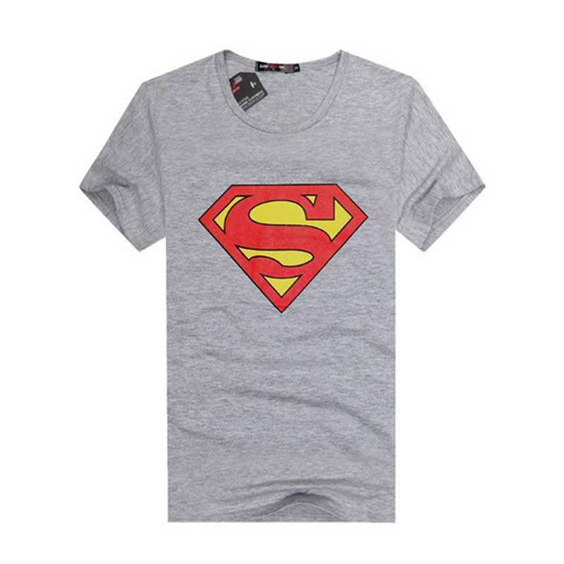 t shirt homme manches courtes superman printed men fashion swag. Black Bedroom Furniture Sets. Home Design Ideas