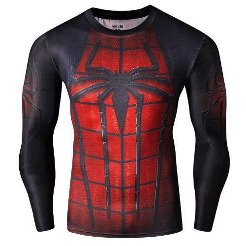 tee shirt homme spiderman,Marvel Super H茅ros Avengers